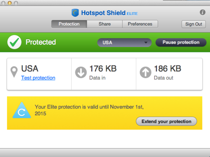 remove Hotspot Shield