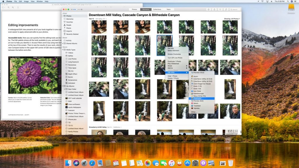 Everything New with Apple's Photos app in macOS High Sierra