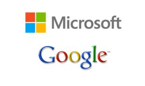 Google and Microsoft