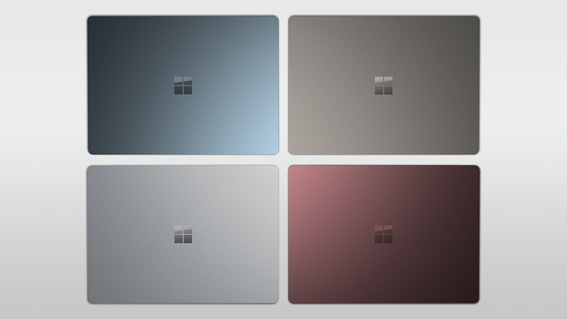 four new Surface Laptop colors