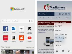 Microsoft Edge Browser for iOS Testing Updates