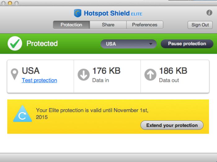 remove Hotspot Shield