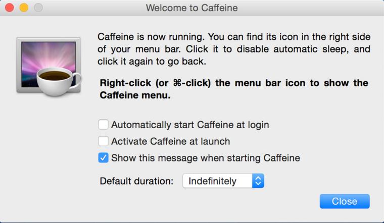 Mac Caffeinate
