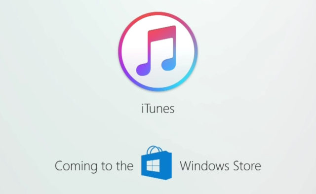 iTunes won't be Available in the Microsoft' Windows