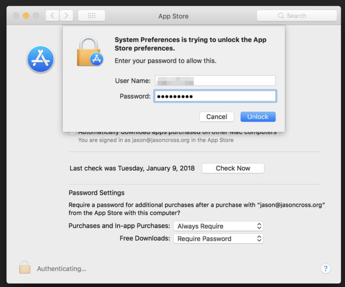 macOS revealed a Security Flaw