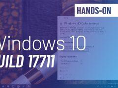 Windows 10 build 17711